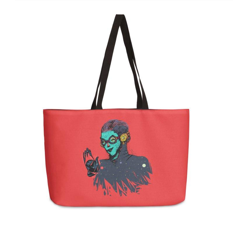 THE FUTUTTURE Tshirt Accessories Weekender Bag Bag by creativosindueno's Artist Shop