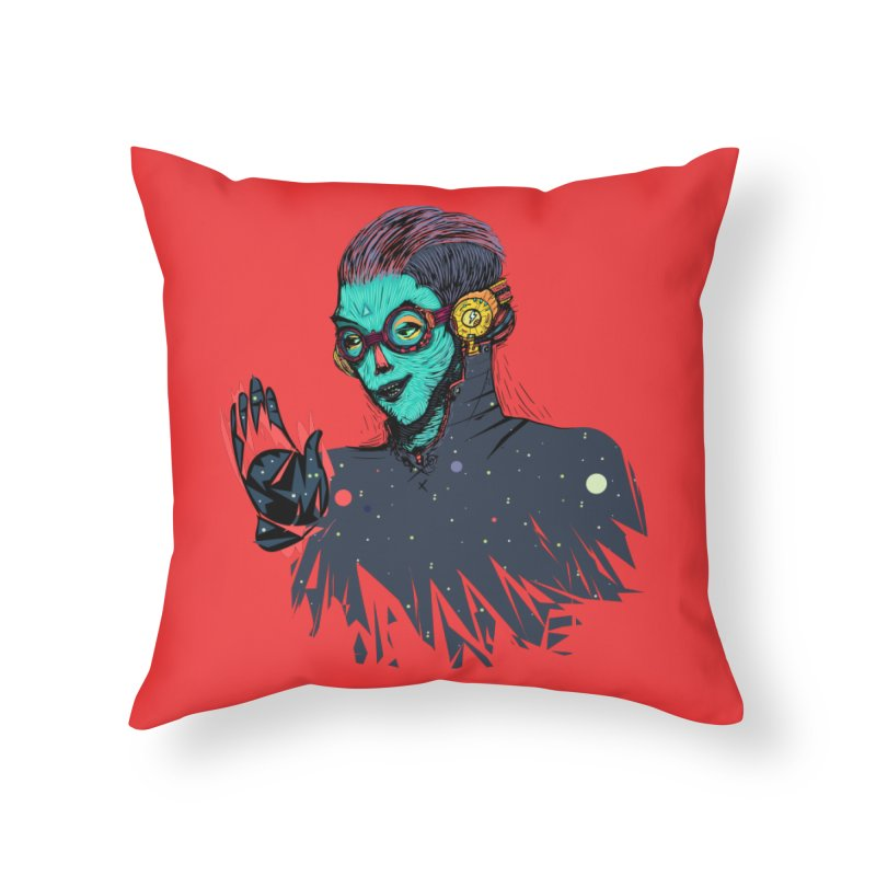 THE FUTUTTURE Tshirt Home Throw Pillow by creativosindueno's Artist Shop