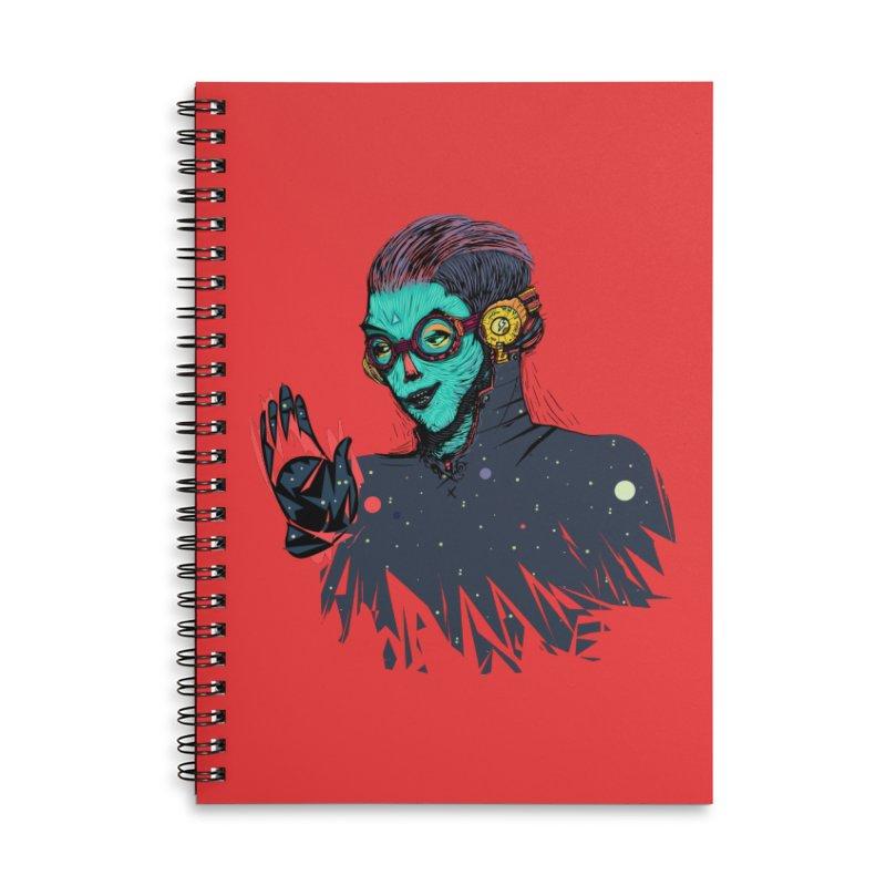 THE FUTUTTURE Tshirt Accessories Lined Spiral Notebook by creativosindueno's Artist Shop