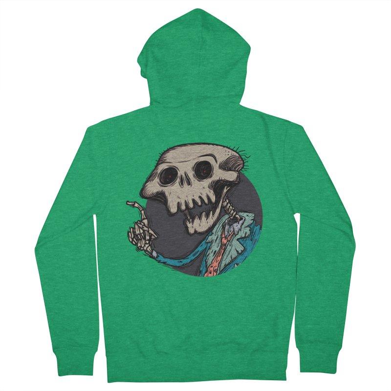 evangelist of death tshirt Women's French Terry Zip-Up Hoody by creativosindueno's Artist Shop