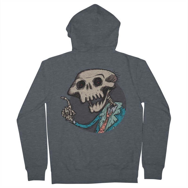 evangelist of death tshirt Men's French Terry Zip-Up Hoody by creativosindueno's Artist Shop