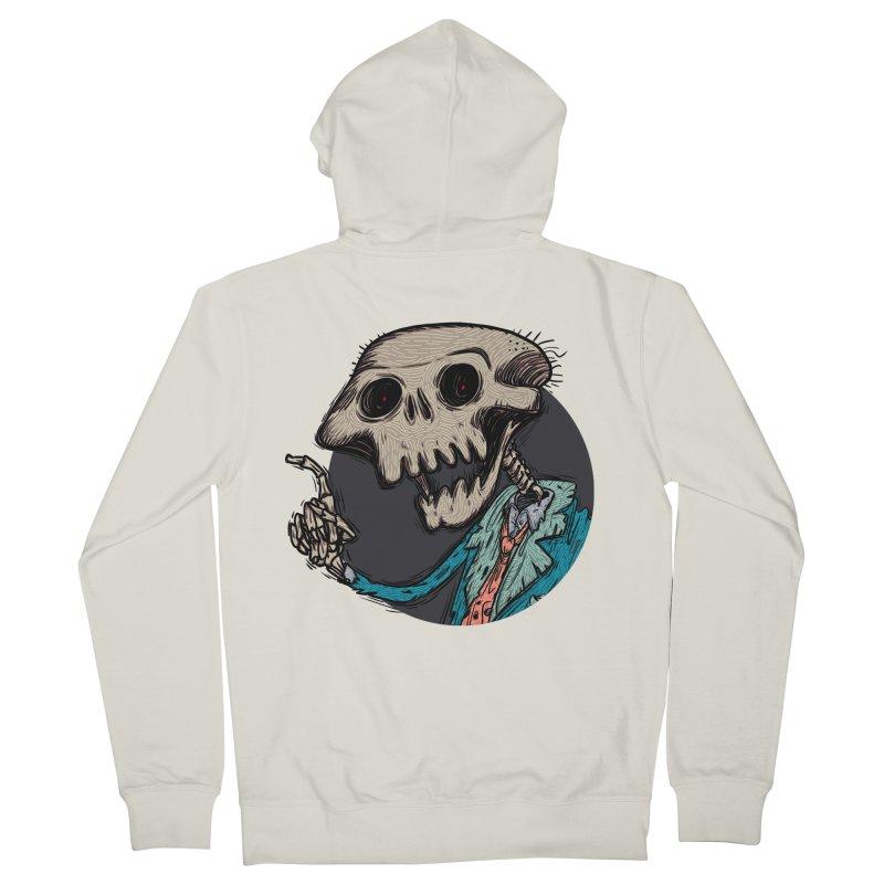 evangelist of death tshirt Men's Zip-Up Hoody by creativosindueno's Artist Shop