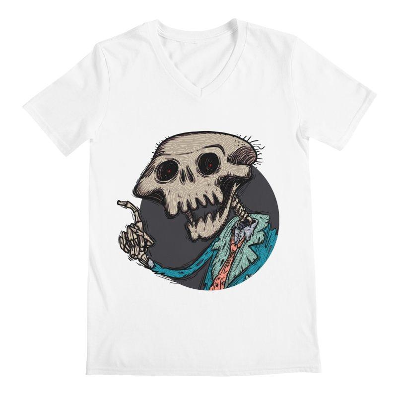 evangelist of death tshirt Men's Regular V-Neck by creativosindueno's Artist Shop
