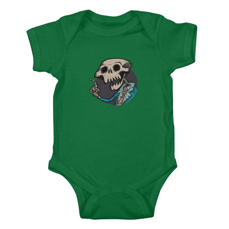 evangelist of death tshirt Kids Baby Bodysuit by creativosindueno's Artist Shop