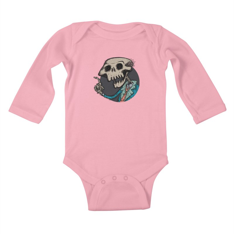 evangelist of death tshirt Kids Baby Longsleeve Bodysuit by creativosindueno's Artist Shop