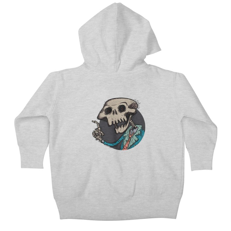 evangelist of death tshirt Kids Baby Zip-Up Hoody by creativosindueno's Artist Shop