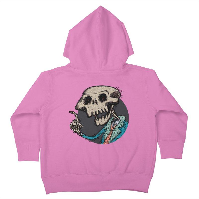 evangelist of death tshirt Kids Toddler Zip-Up Hoody by creativosindueno's Artist Shop