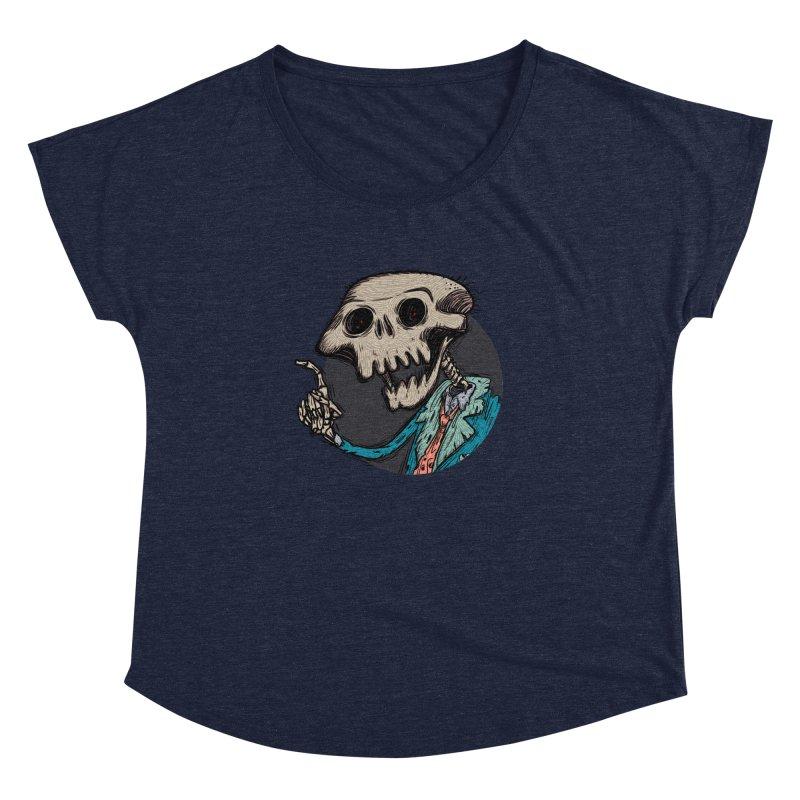 evangelist of death tshirt Women's Dolman Scoop Neck by creativosindueno's Artist Shop