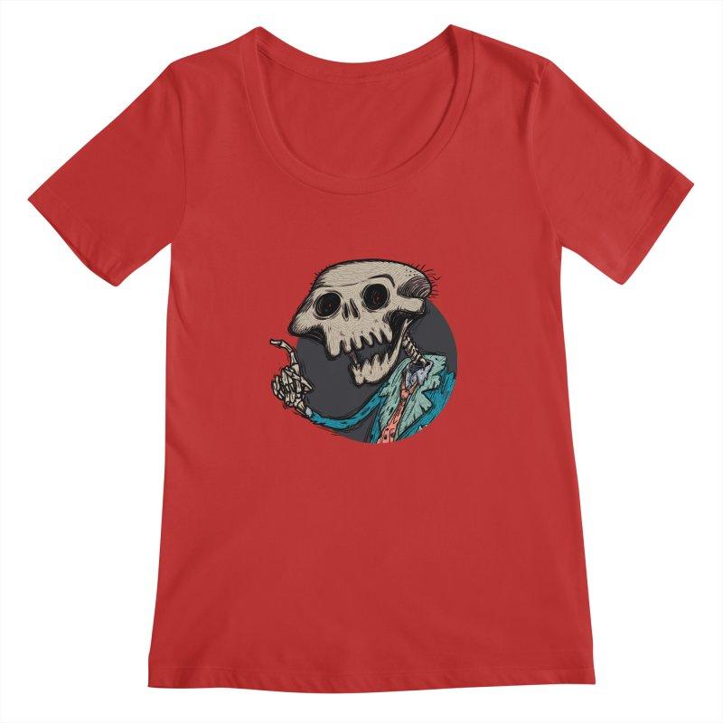 evangelist of death tshirt Women's Regular Scoop Neck by creativosindueno's Artist Shop