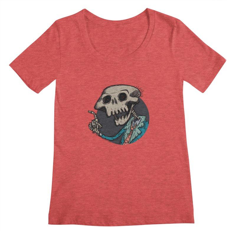 evangelist of death tshirt Women's Scoopneck by creativosindueno's Artist Shop