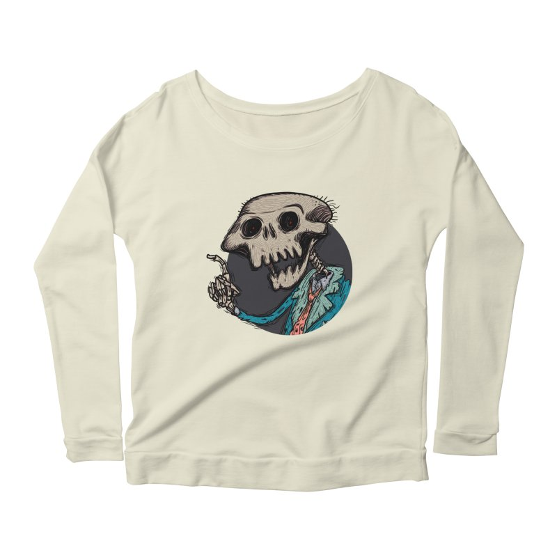 evangelist of death tshirt Women's Longsleeve Scoopneck  by creativosindueno's Artist Shop