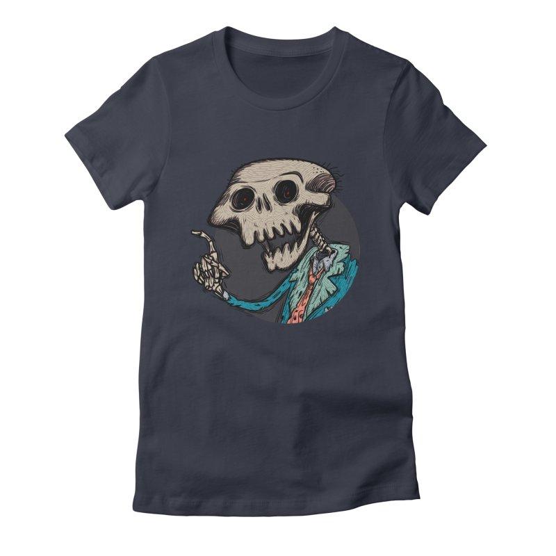 evangelist of death tshirt Women's Fitted T-Shirt by creativosindueno's Artist Shop
