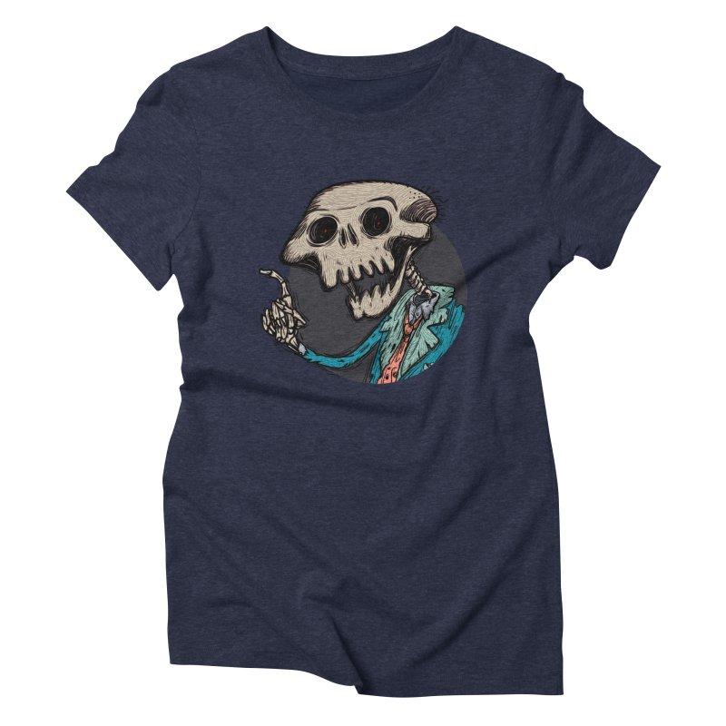evangelist of death tshirt Women's Triblend T-Shirt by creativosindueno's Artist Shop
