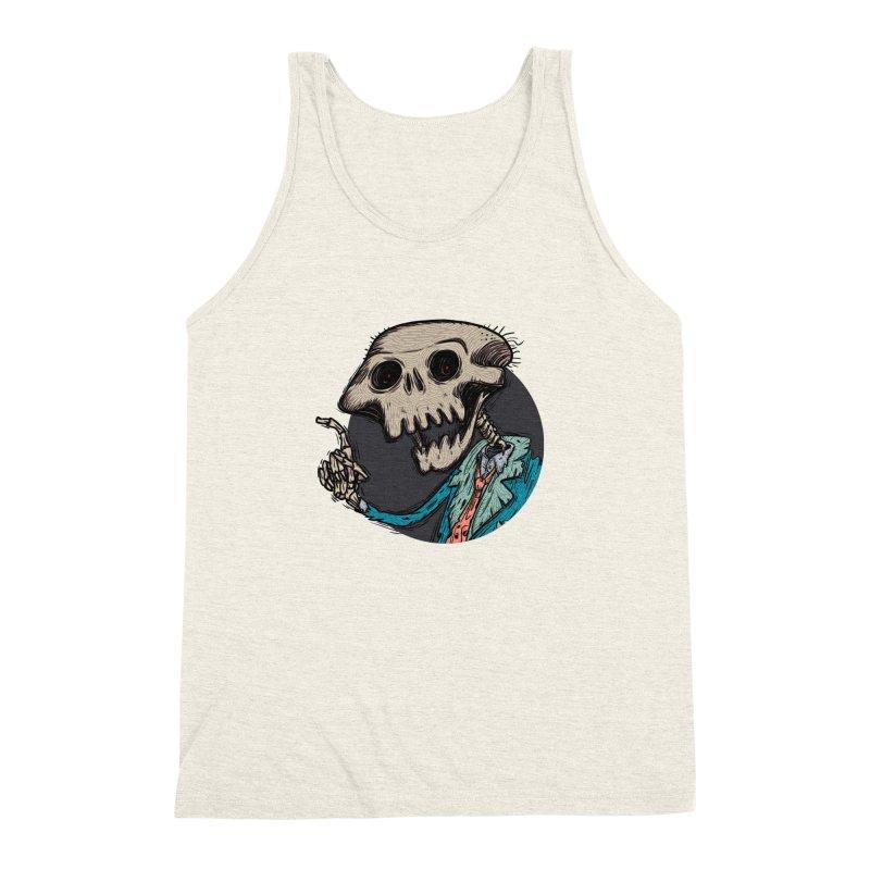 evangelist of death tshirt Men's Triblend Tank by creativosindueno's Artist Shop