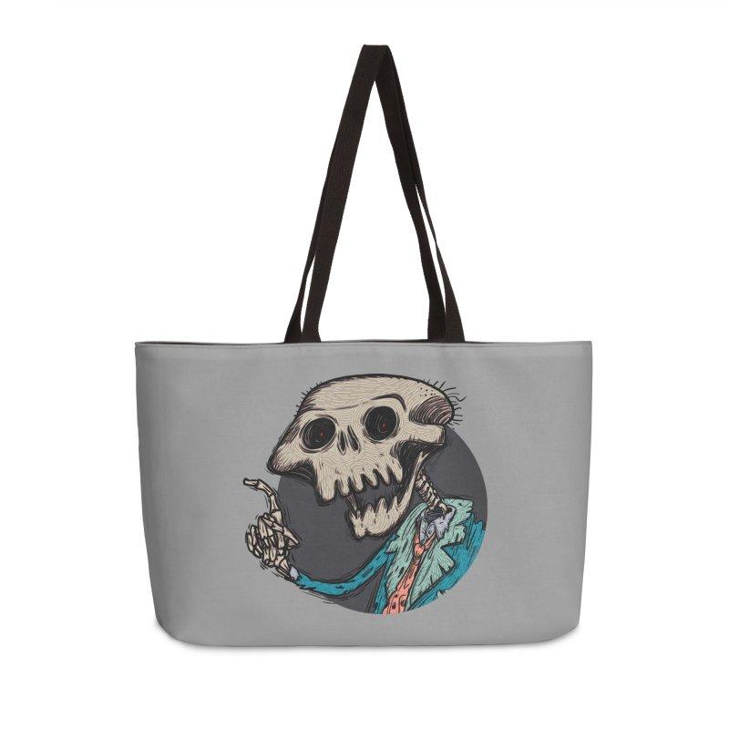 evangelist of death tshirt Accessories Weekender Bag Bag by creativosindueno's Artist Shop