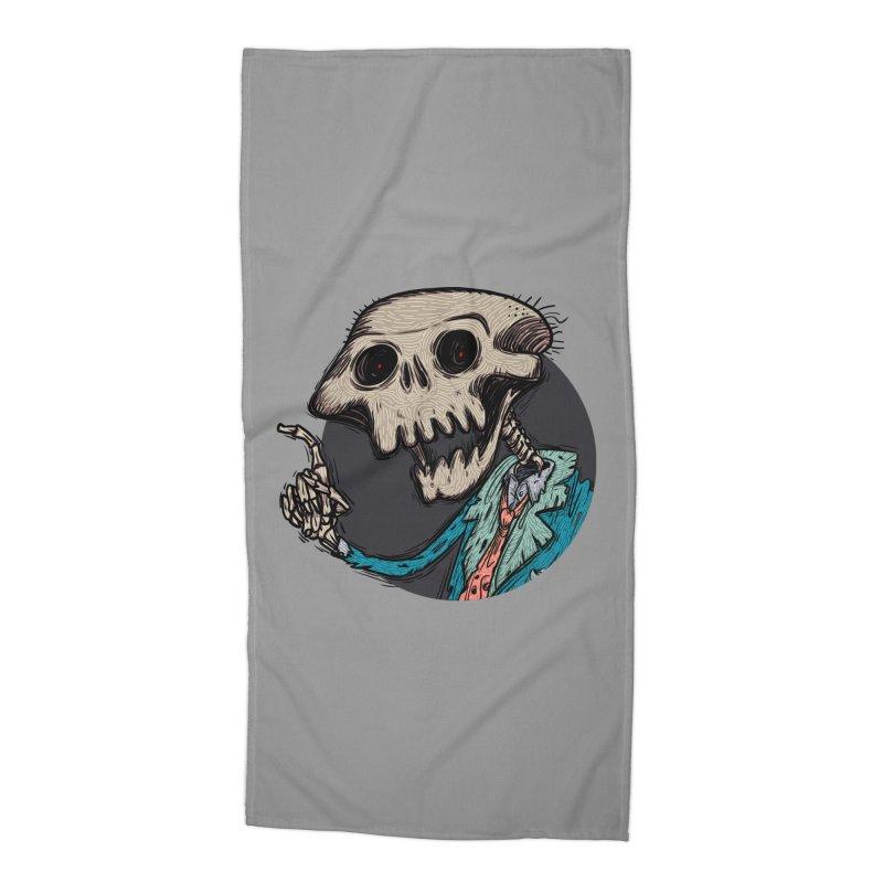 evangelist of death tshirt Accessories Beach Towel by creativosindueno's Artist Shop