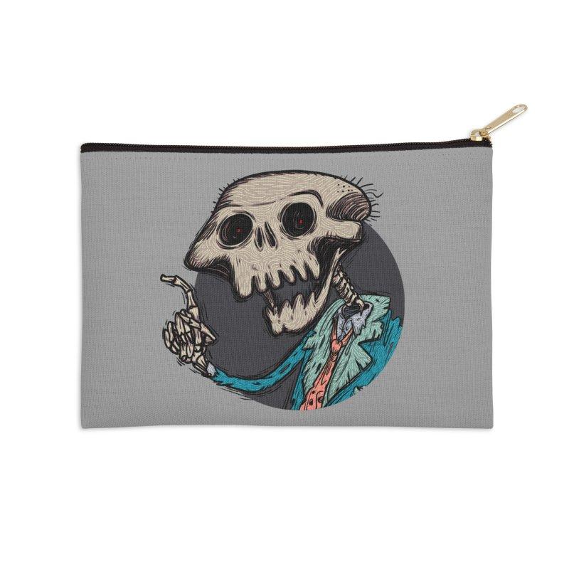 evangelist of death tshirt Accessories Zip Pouch by creativosindueno's Artist Shop