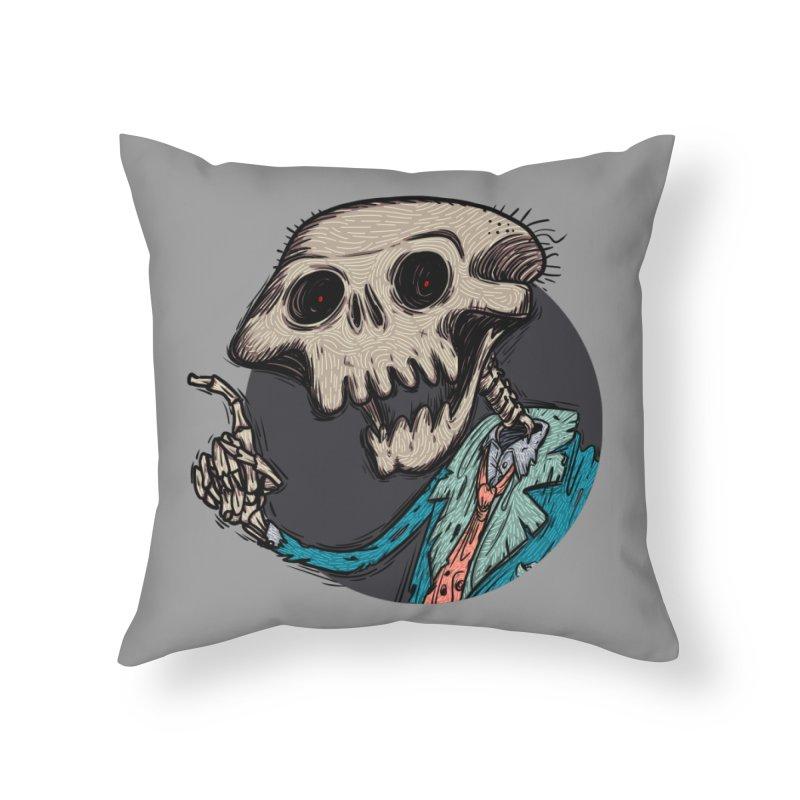 evangelist of death tshirt Home Throw Pillow by creativosindueno's Artist Shop