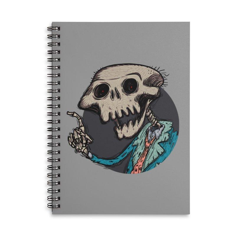 evangelist of death tshirt Accessories Lined Spiral Notebook by creativosindueno's Artist Shop