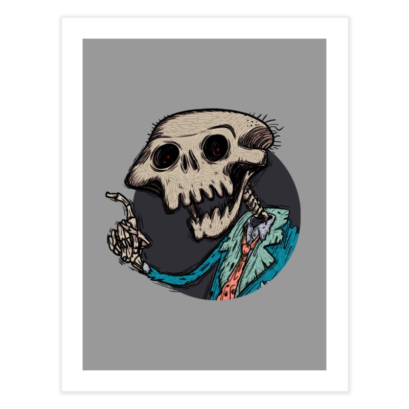 evangelist of death tshirt Home Fine Art Print by creativosindueno's Artist Shop