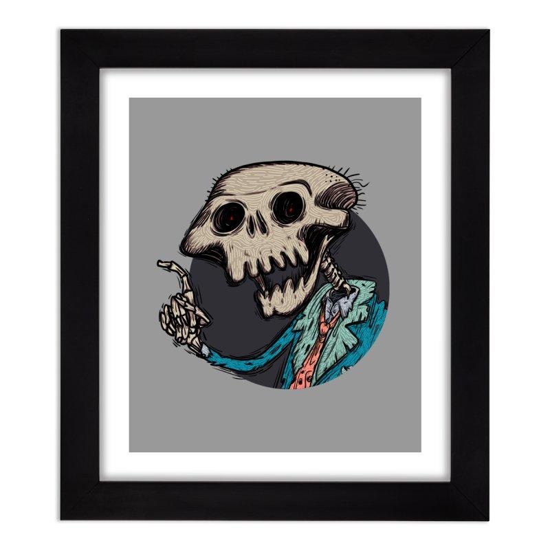 evangelist of death tshirt Home Framed Fine Art Print by creativosindueno's Artist Shop