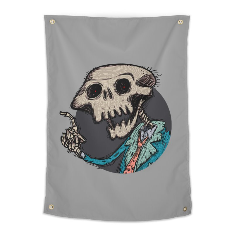 evangelist of death tshirt Home Tapestry by creativosindueno's Artist Shop