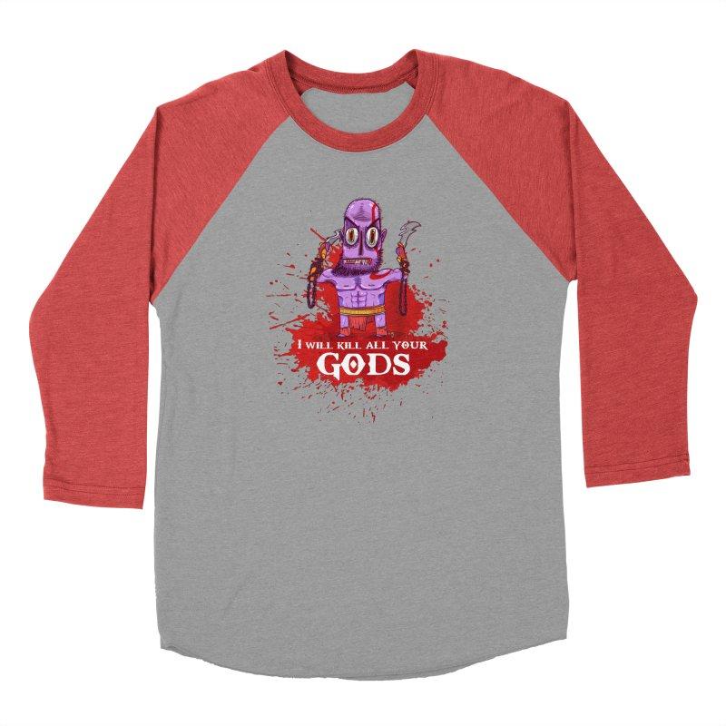The fury of kratos tshirt Men's Longsleeve T-Shirt by creativosindueno's Artist Shop