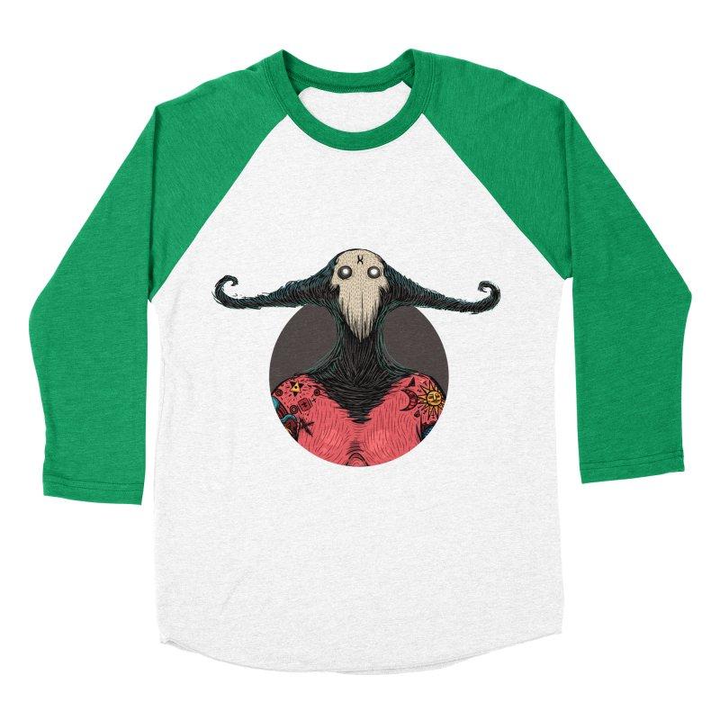 DevilWomanZoom Men's Baseball Triblend Longsleeve T-Shirt by creativosindueno's Artist Shop