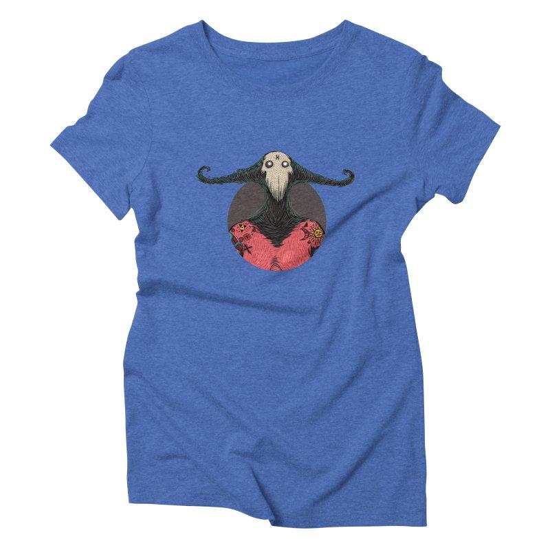 DevilWomanZoom Women's Triblend T-Shirt by creativosindueno's Artist Shop