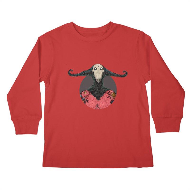 DevilWomanZoom Kids Longsleeve T-Shirt by creativosindueno's Artist Shop