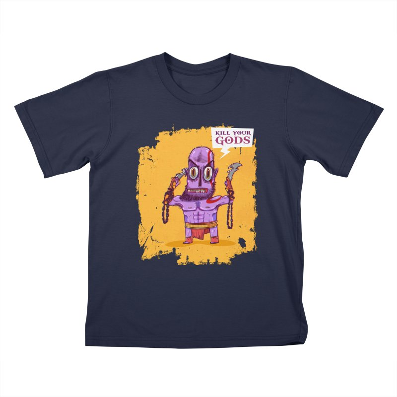 kratos Kids T-Shirt by creativosindueno's Artist Shop