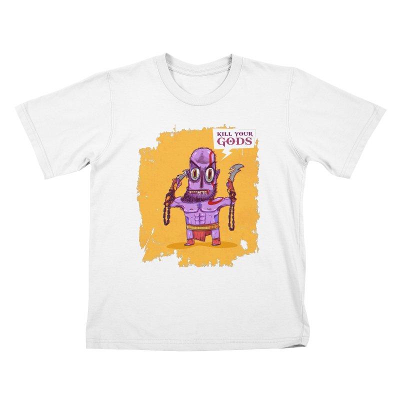 kratos Kids T-shirt by creativosindueno's Artist Shop
