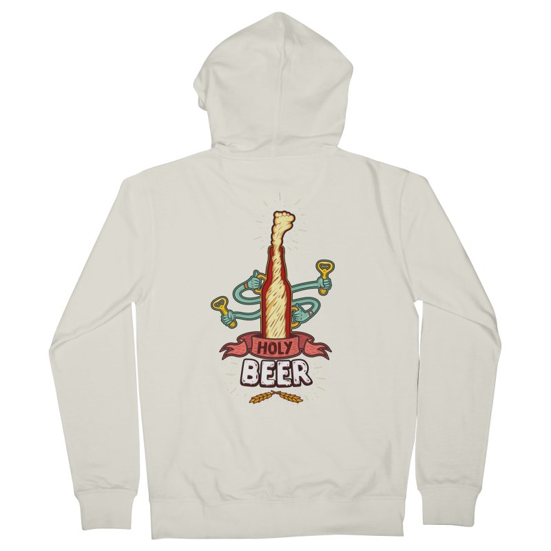 HolyBeer! Women's Zip-Up Hoody by creativosindueno's Artist Shop
