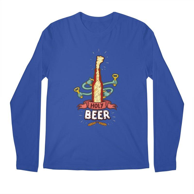 HolyBeer! Men's Longsleeve T-Shirt by creativosindueno's Artist Shop