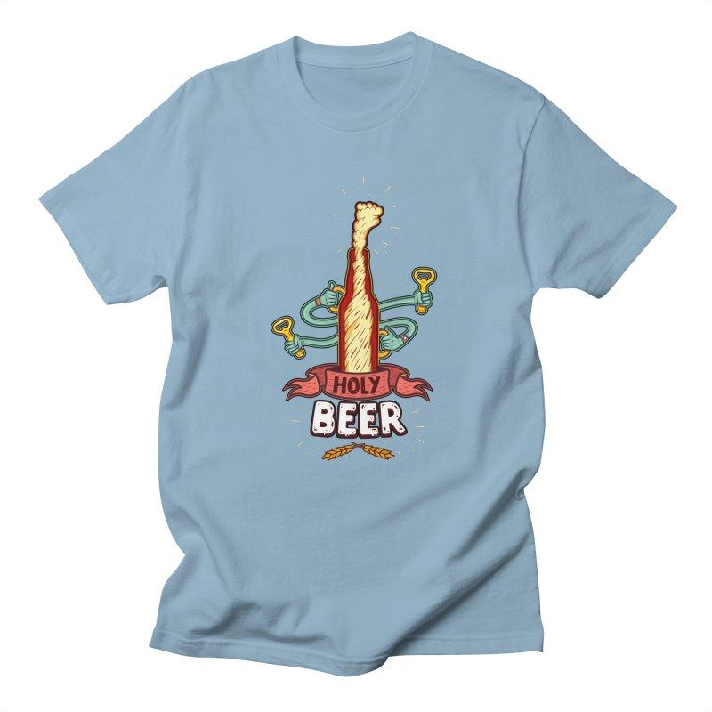 HolyBeer! Men's T-shirt by creativosindueno's Artist Shop