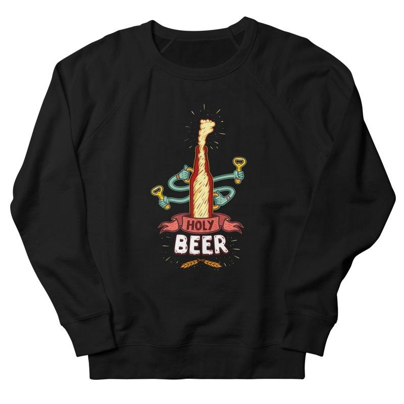 HolyBeer! Men's Sweatshirt by creativosindueno's Artist Shop