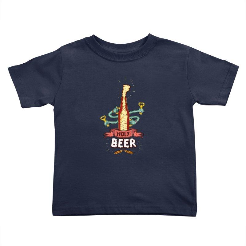 HolyBeer! Kids Toddler T-Shirt by creativosindueno's Artist Shop