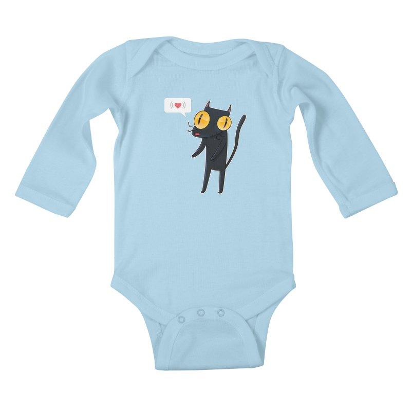 CarLover! Kids Baby Longsleeve Bodysuit by creativosindueno's Artist Shop