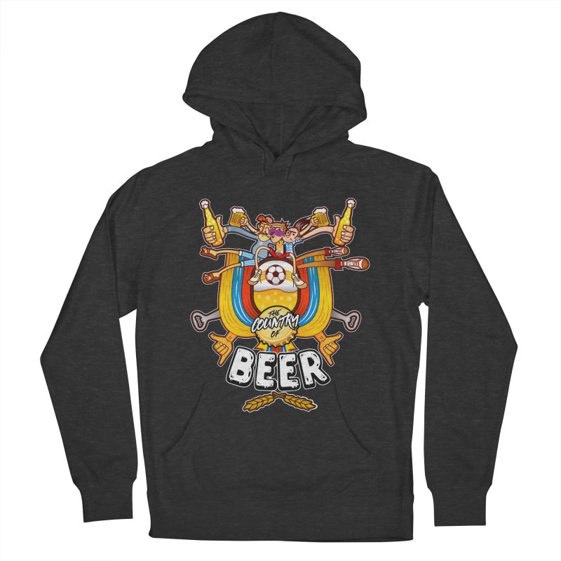 The Country of Beer! Women's Pullover Hoody by creativosindueno's Artist Shop