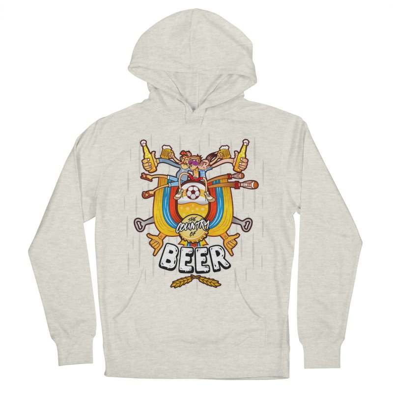 The Country of Beer! Men's Pullover Hoody by creativosindueno's Artist Shop