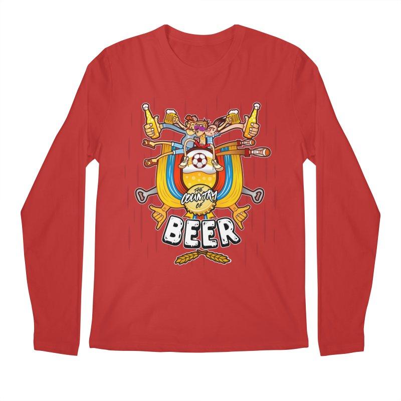 The Country of Beer! Men's Longsleeve T-Shirt by creativosindueno's Artist Shop