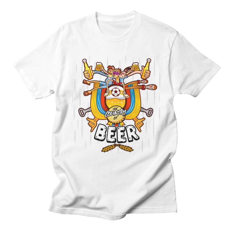 The Country of Beer! Men's T-Shirt by creativosindueno's Artist Shop