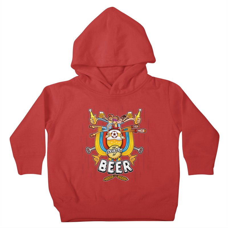 The Country of Beer! Kids Toddler Pullover Hoody by creativosindueno's Artist Shop