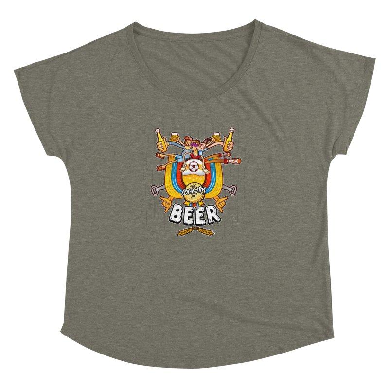 The Country of Beer! Women's Dolman by creativosindueno's Artist Shop