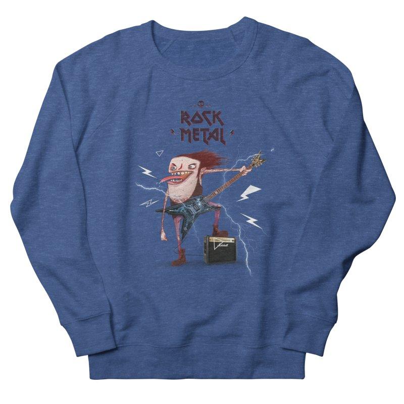 RockMetal! Men's Sweatshirt by creativosindueno's Artist Shop