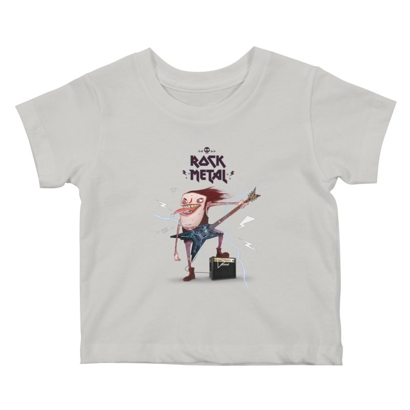 RockMetal! Kids Baby T-Shirt by creativosindueno's Artist Shop