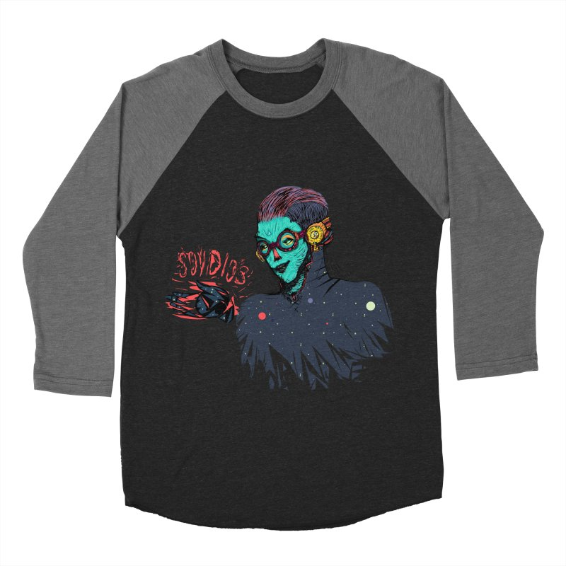 SoyDios! Women's Baseball Triblend T-Shirt by creativosindueno's Artist Shop