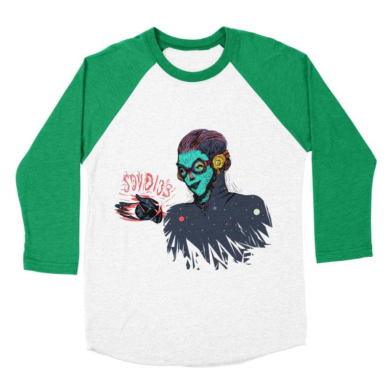 SoyDios! Men's Baseball Triblend T-Shirt by creativosindueno's Artist Shop