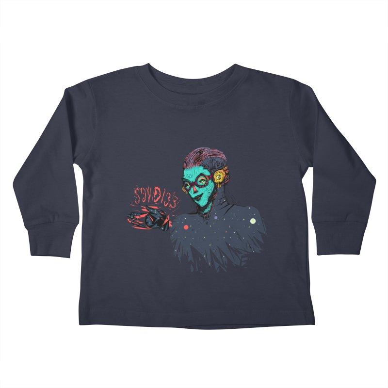 SoyDios! Kids Toddler Longsleeve T-Shirt by creativosindueno's Artist Shop