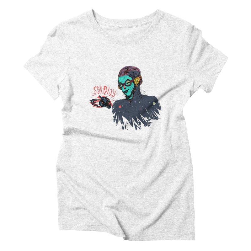 SoyDios! Women's Triblend T-shirt by creativosindueno's Artist Shop